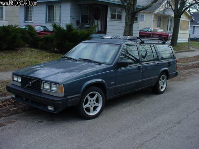 Volvo  -- 1987 Wagon 745ti