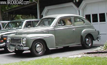 Volvo  -- 1960 PV544 Sport