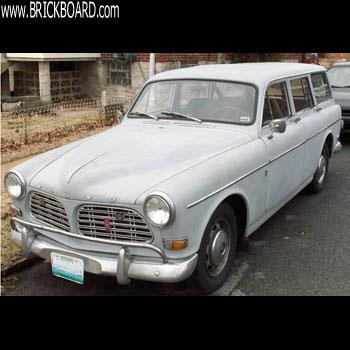 Volvo 120-130 -- Wearing Grey in March